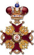 Bagde to Order St Stanislav 2nd crown