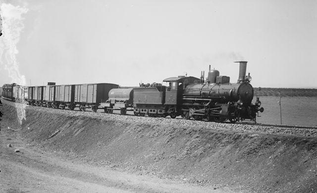 Isztambul-Bagdad vonat 1910 környékén - Forrás: Wikipédia