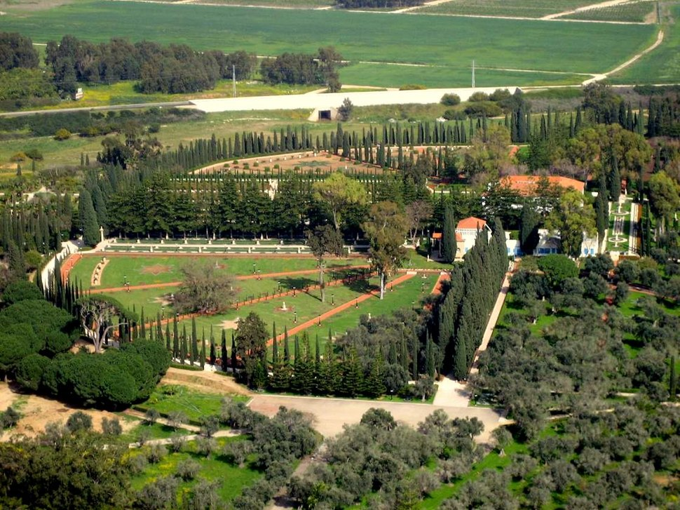 Bahai gardens in Acre