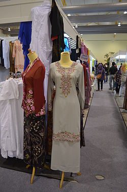 Baju kurung - Wikipedia Bahasa Melayu, ensiklopedia bebas