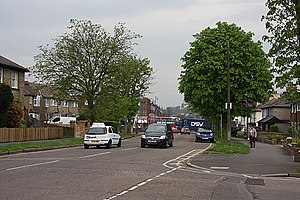 Potters Bar - Image: Baker Street geograph.org.uk 1263543
