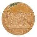 Baksida av medalj med bild av Karl V samt text, 1830 - Skoklosters slott - 99303.tif