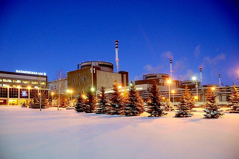 Балаковская АЭС / ©Wikimedia Commons