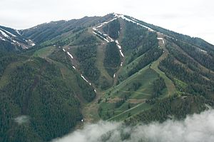 Sun Valley, Idaho - Bald Mountain in June 2009