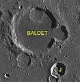 Baldet sattelite craters map.jpg