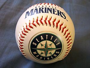 ja:シアトル・マリナーズのボール。 en:Baseball of Seattle Mariners