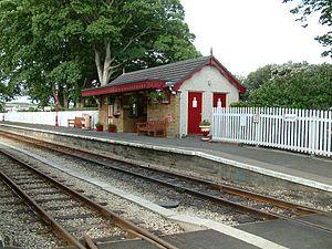 Ballasalla railway station - The New 1986 Station