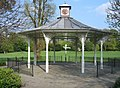 Bandstand with an odd clock - geograph.org.uk - 1262293.jpg