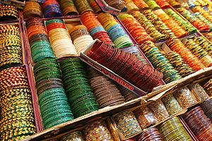 Bangle - Bangles on display in India