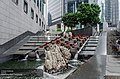 Bank of China Tower outside water features 2014.jpg