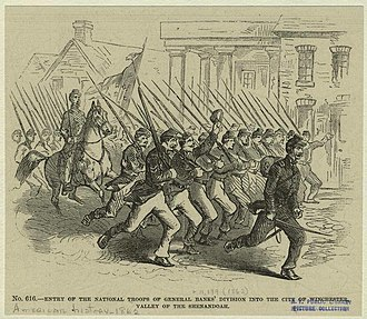 Winchester, Virginia in the American Civil War - Entry of General Banks' Division, May, 1862