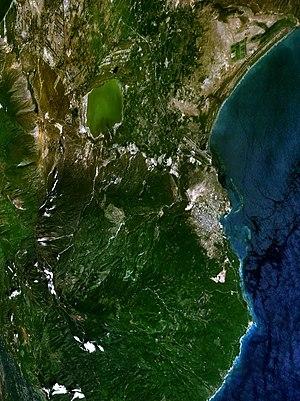 Barahona, Dominican Republic - Google Earth image of Barahona.