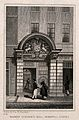 Barber-surgeons' Hall, Monkwell Street, London; the entrance Wellcome V0013087.jpg
