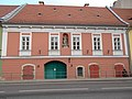 Baroque house. Listed ID 19.- Corvin Sq, Budapest.JPG