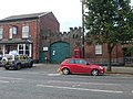 Barracks entrance, Frodsham - geograph.org.uk - 2159881.jpg