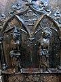 Barth Marienkirche - Tauffünte 3e Relief Heilige.jpg