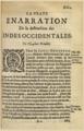 Bartolomé de Las Casas, La vraye Enarration De la destruction des Indes Occidentales, 1620.png