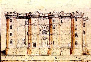 Bastille - Image: Bastille, 1790 retouched