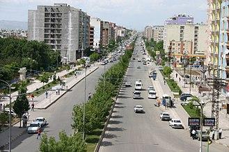 Batman, Turkey - A view of city center in Batman.