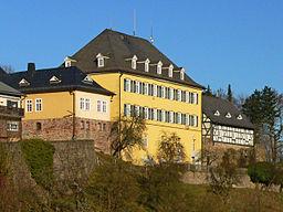 Battenberg (Hessen) - Schloss (Neuburg), seit 1971 Sitz der Stadtverwaltung
