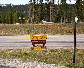 Wyoming Highway 70 - The scenic by-way crosses the Continental Divide