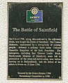 Battle of Saintfield plaque, Saintfield - geograph.org.uk - 1440921.jpg