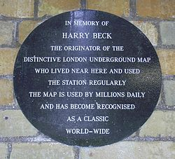 Beck plaque