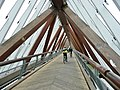 Beim 366 km langen Neckartalradweg, Brücke bei Neckargröningen - panoramio.jpg