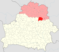 Location of Talachyn District
