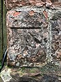 Benchmark at Great Urswick, St Mary and St Michael's Church.jpg