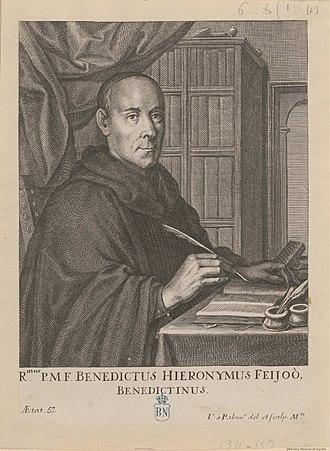 Benito Jerónimo Feijóo y Montenegro - Portrait of Feijoo y Montenegro by Juan Bernabé Palomino