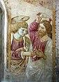 Benozzo gozzoli, tabernacolo di legoli, 1479-80, 10 incredulità di san tommaso.jpg