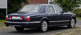 Bentley Arnage R (Facelift) – Heckansicht (2), 3. September 2012, Düsseldorf.jpg