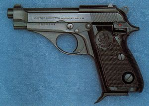 Beretta 70 - The Beretta 70 in .32 ACP (7.65mm Browning)