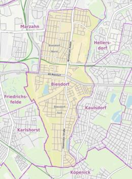 Liste Der Straßen Und Plätze In Berlin Biesdorf Wikipedia