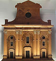 Bernardo buontalenti, modello per la facciata, 1587 02.JPG