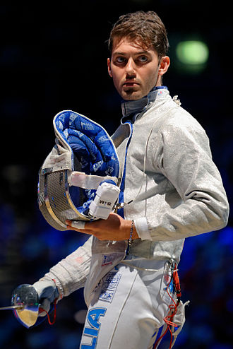 Enrico Berrè - At the 2013 World Fencing Championships