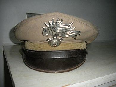 Berretto per Appuntati e Carabinieri in uso fino al 1987 904807d20f86