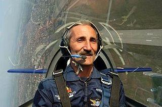 Péter Besenyei Hungarian air racer