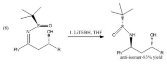 Lithium triethylborohydride - Image: Betaimmine reduction