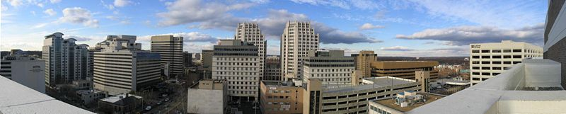 Bethesda downtown panorama.jpg