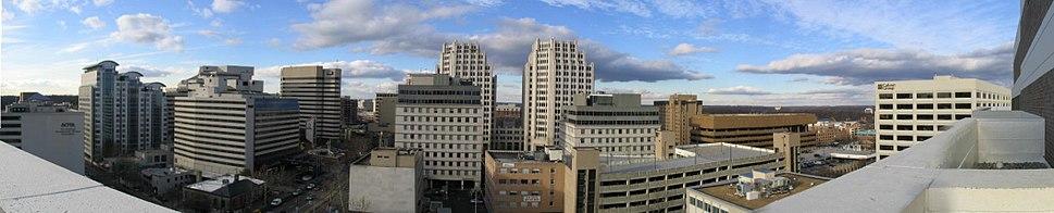 Bethesda downtown panorama