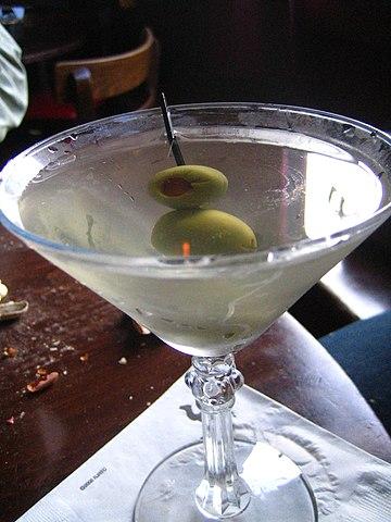 Martini con vodka.