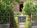 Beware all ye that enter here - geograph.org.uk - 474857.jpg