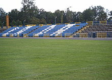 Zachodnie trybuny stadionu
