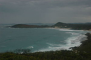 Bibbulmun Track - View of the south coast of Western Australia from the Bibbulmun Track, between Denmark and Peaceful bay.