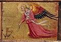 Bicci di lorenzo, madonna col bambino e santi, da s. martino a uzzano, 07 angelo.JPG