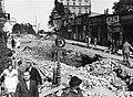 Bielsko-Biała, skutki wysadzenia tunelu 3-09-1939.jpg