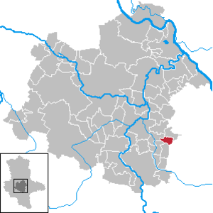 Biendorf, Saxony-Anhalt - Image: Biendorf in SLK
