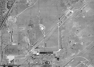Biggs Army Airfield - USGS 1996 photo of Biggs Army Airfield